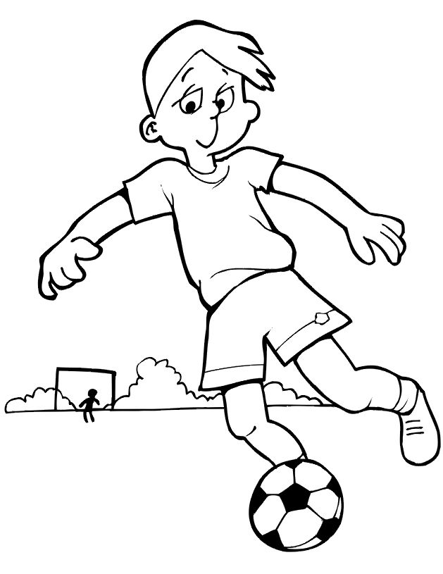You Are Wonderful At Kicking A Soccer Ball. In Fact, You Kick Everything!  Free Kids Coloring PagesPrintable ...