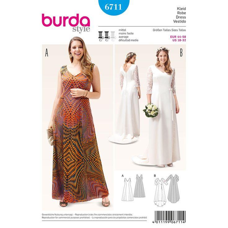 79 besten BURDA Bilder auf Pinterest | Kleidermuster, Nähprojekte ...