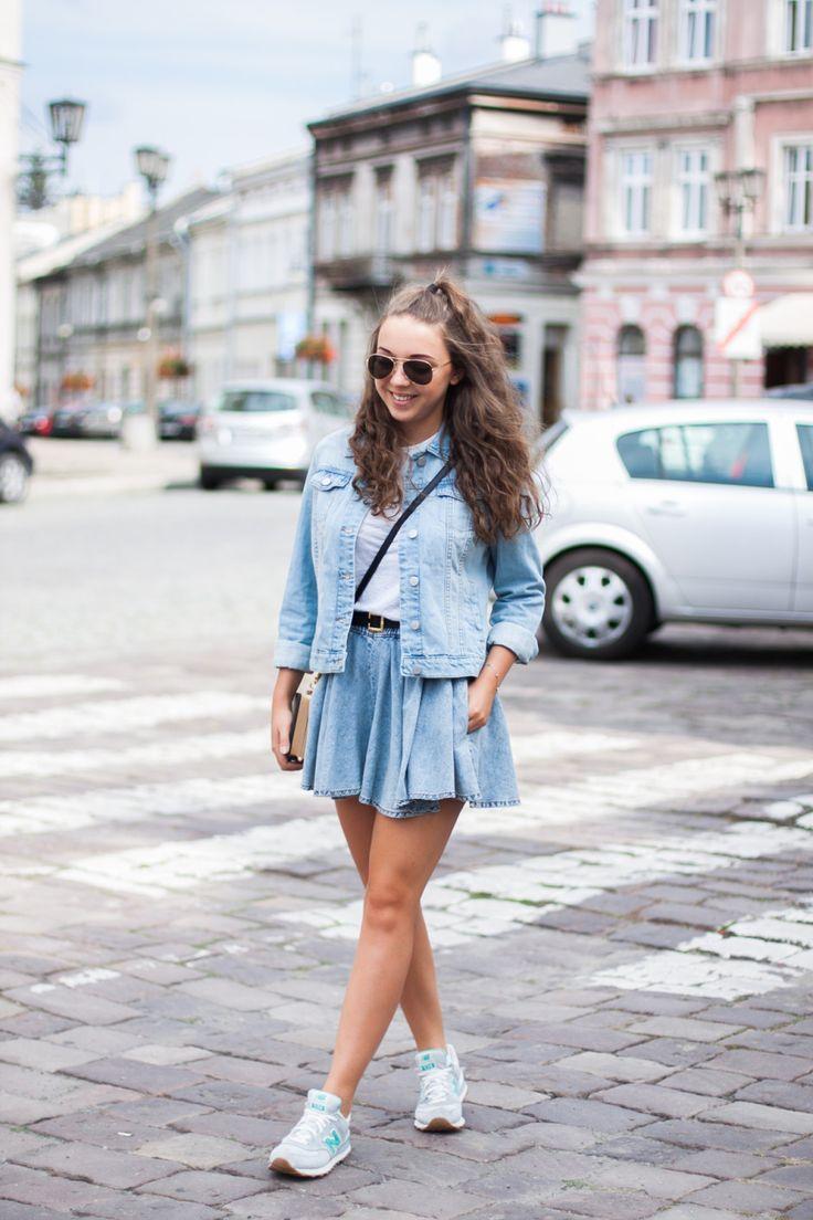 GABRIELA  #polishgirl #denim #look #ootd #top #girl #guesswhatpl