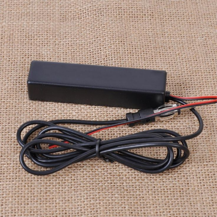 New Black Universal Car Electronic Stereo Radio AM FM Hidden Amplified Antenna Kit for Boat Truck ATV Vehicle Truck Fast Shiping