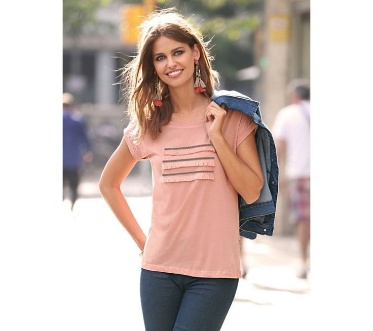 Tričko so strapcami | modino.sk #ModinoSK #modino_sk #modino_style #style #fashion #shirt