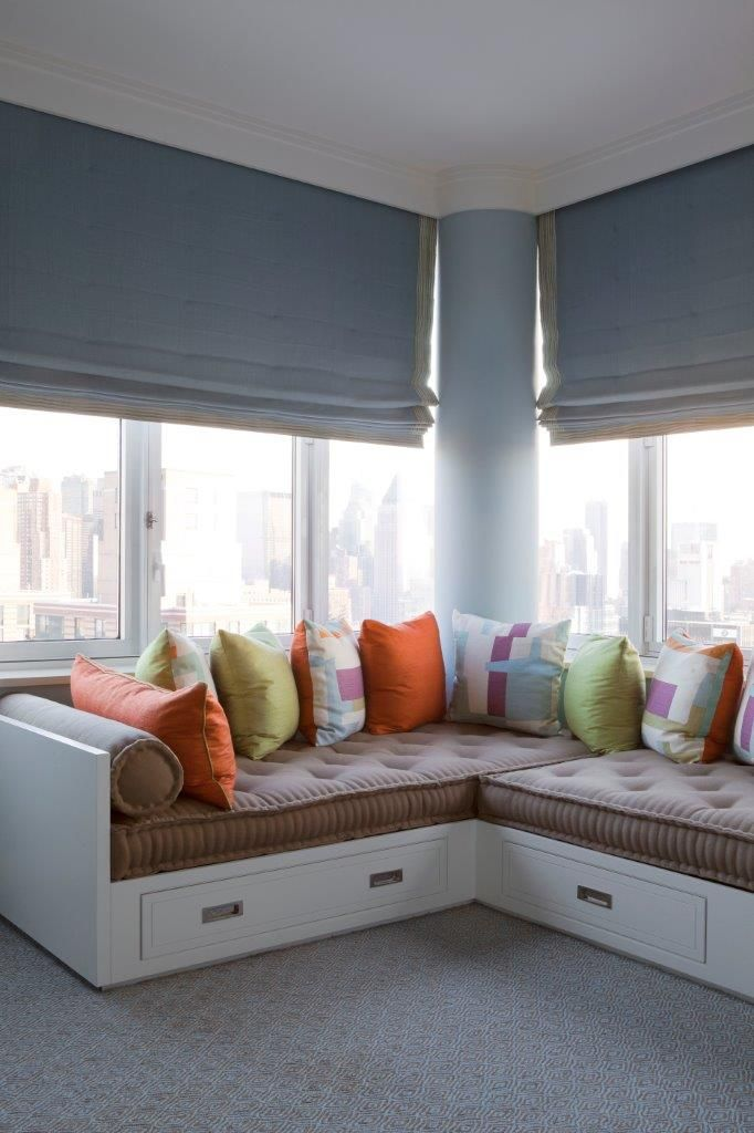 new york city penthouse michael maher design corner twin bedstwo