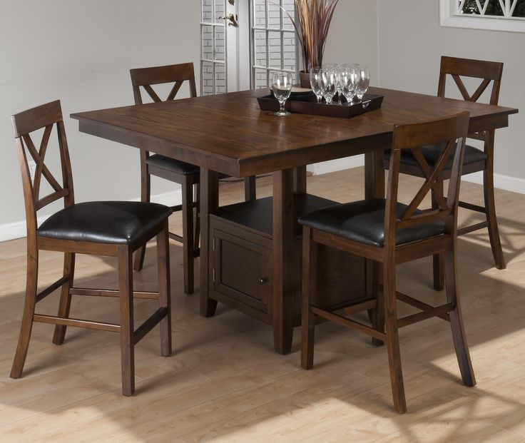 Superieur Jofran Counter Height Rectangle Dining Table In Olsen Oak   Best Home HQ