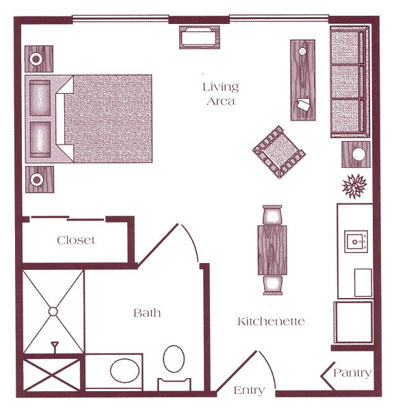 Floor Plans For Studio Apartments best 25+ studio apartment plan ideas on pinterest | studio