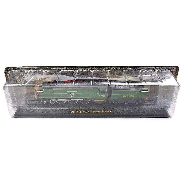 Nieuwe Hobby Collecties Model Speelgoed Amer Stoom Treinen Locomotief Ho 1946: SR 4-6-2 No.21C151 Winston Churchill Model Geschenken