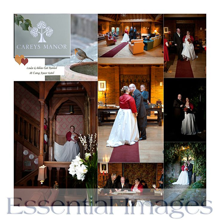 This was a lovely #Autumn #wedding at Careys Manor Hotel.  Fabulous warm colours! Wedding photography by http://www.newforestweddingphotographers.co.uk
