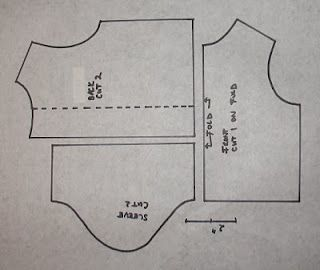 "18"" doll shirt pattern"
