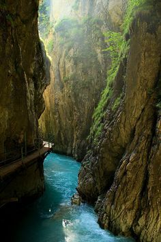 Leutasch Gorge ~ Bavaria, Germany.... this was amazing