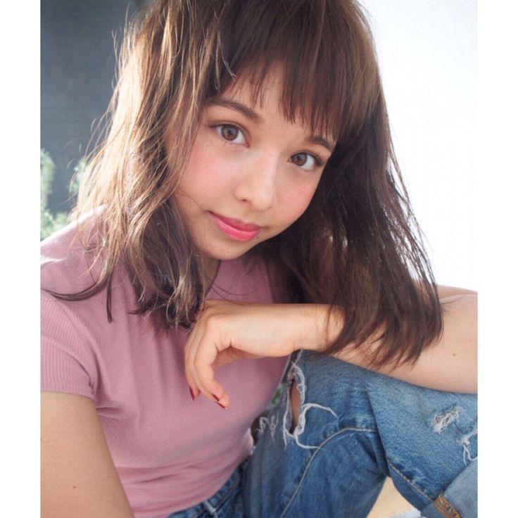 ヌードなリップカラーと相性抜群♡LOAVE中島さんの外国人風ヘアが可愛すぎる | HAIR