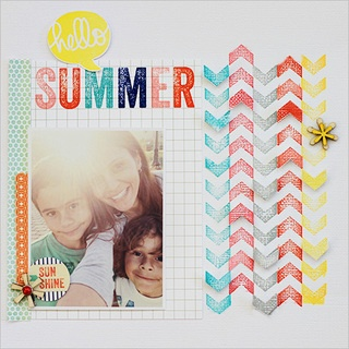 Those chevron strips are awesome! hello summer by walesk at Studio Calico: Scrapbooking Papercraft Idea, Scrapbooking Inspiration, Scrapbook Layouts, Scrapbook Inspiration, Scrapbooking Elle S Studio, Scrapbooking Scrappy Ideas, Hello Summer, Scrapbooking Stuff, Scrapbooking Layouts
