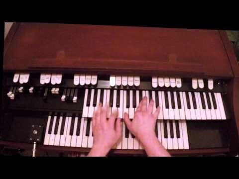 (17) The Chicken on Hammond M100 Organ - YouTube