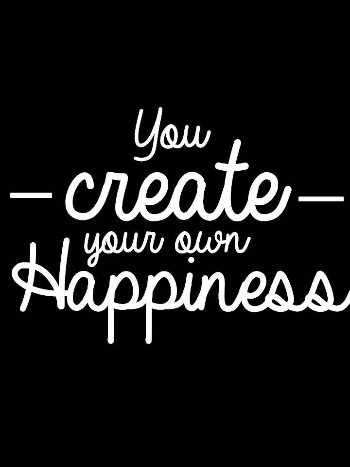Creating Your Perfect Minimalist Wardrobe In Stages: Make Your Own Happiness Quotes. QuotesGram