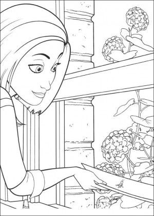 Bee Movie Coloring Page 13