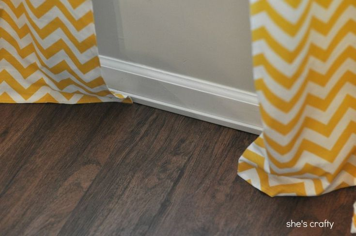 She's crafty: vinyl plank flooring aka fake wood floors. This would be perfect for my craft room too!