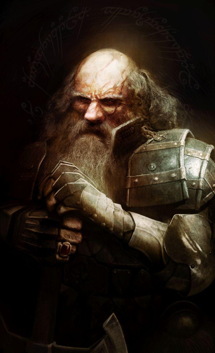 Thrain the Second, son of Thror by Leone-art.deviantart.com on @deviantART