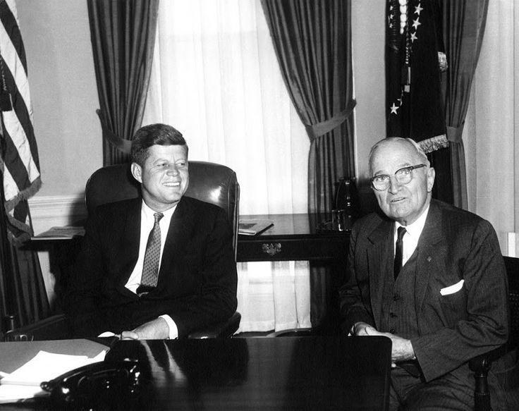 truman and jfk | John F. Kennedy and Harry S. Truman (January 21, 1961).