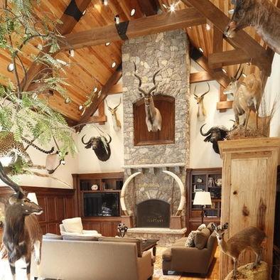 1000 images about garage man room on pinterest cabin for Trophy room design