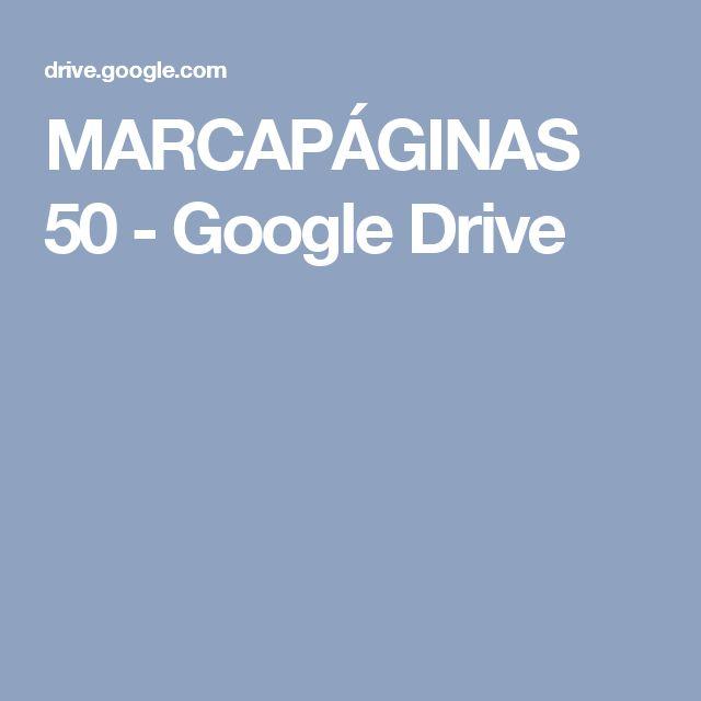 MARCAPÁGINAS 50 - Google Drive