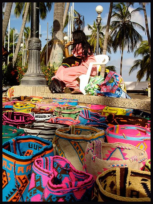 The Wayuu people in Guajira, #COLOMBIA