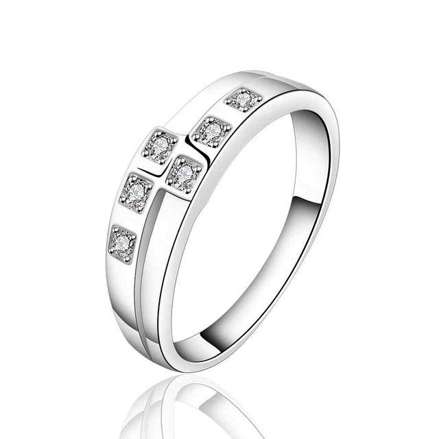 NIEUWE Arrivel 2016 VS EURO Stijl Mode verzilverd kelly nodig u Ring Groothandel Sieraden SMTR618