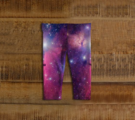 Purple Galaxy Baby Leggings - Available Here: http://artofwhere.com/shop/product/73082
