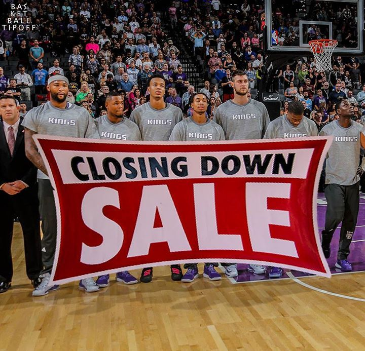 Report: Kings making Darren Collison Arron Afflalo and Ben McLemore available for picks & rookie-deal players in return. It seems like the Sacramento Kings players are on sale.    -slipLine