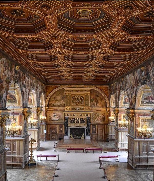 La touche française - Chateau de Fontainebleau France