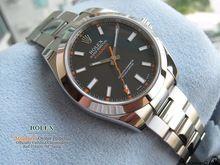 Ruolo di Lusso Da Polso Nero PVD 116400 Seriale Sapphire automatic Mens Watch Orologi Da uomo X $371(China (Mainland))