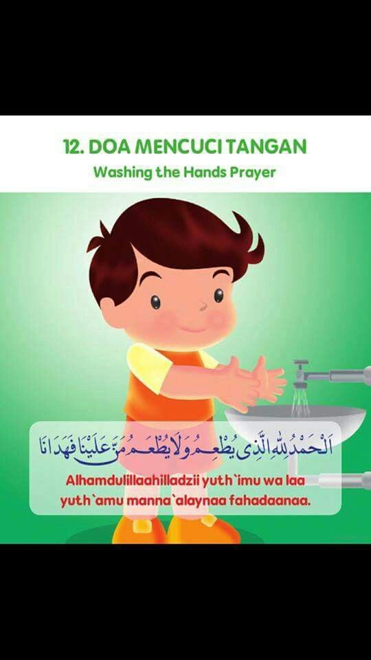 Doa Ketika Mencuci Tangan