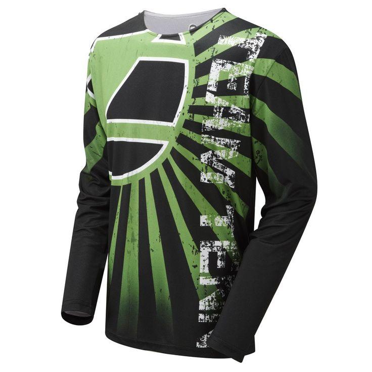 Tenn Breeze MTB Jersey Lime 3XL