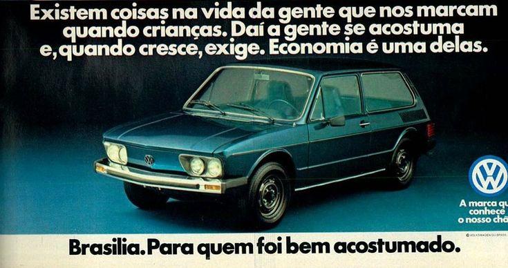1979 VW Brasilia LS - Brasil | Brazilian Classic Cars & Propaganda | Pinterest