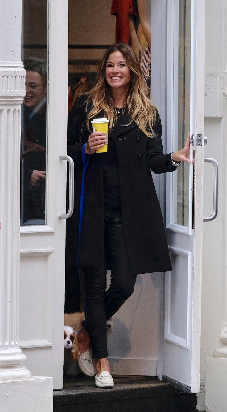 Kelly Bensimon seen out in Soho