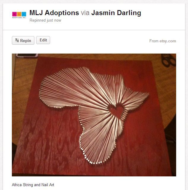 Fundraising Crafts: Nail And String Art | MLJ Adoptions | Adjustment | Resources |
