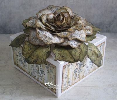 Heartfelt Creations | Vintage Floret Give Box
