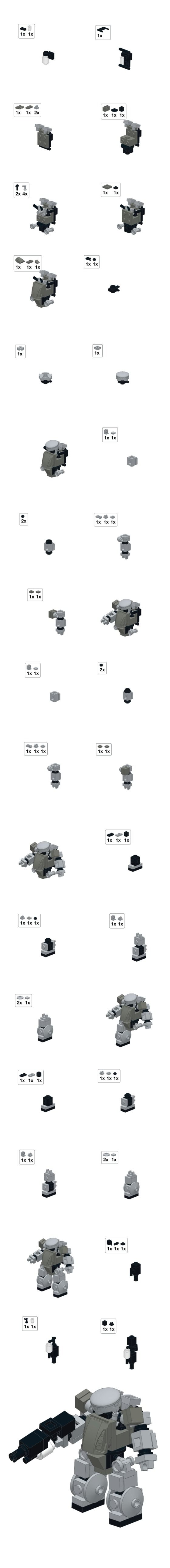 Mobile Frame Zero Chub - breakdown plan