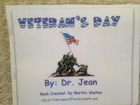 Dr. Jean's Veterans Day Activities & Song #VeteransDay www.operationwearehere.com/veteransday.html