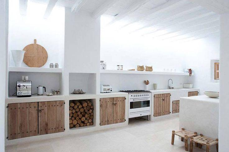 Oltre 25 fantastiche idee su camino aperto su pinterest camino moderno caminetti moderni e - Progettare cucina in muratura ...