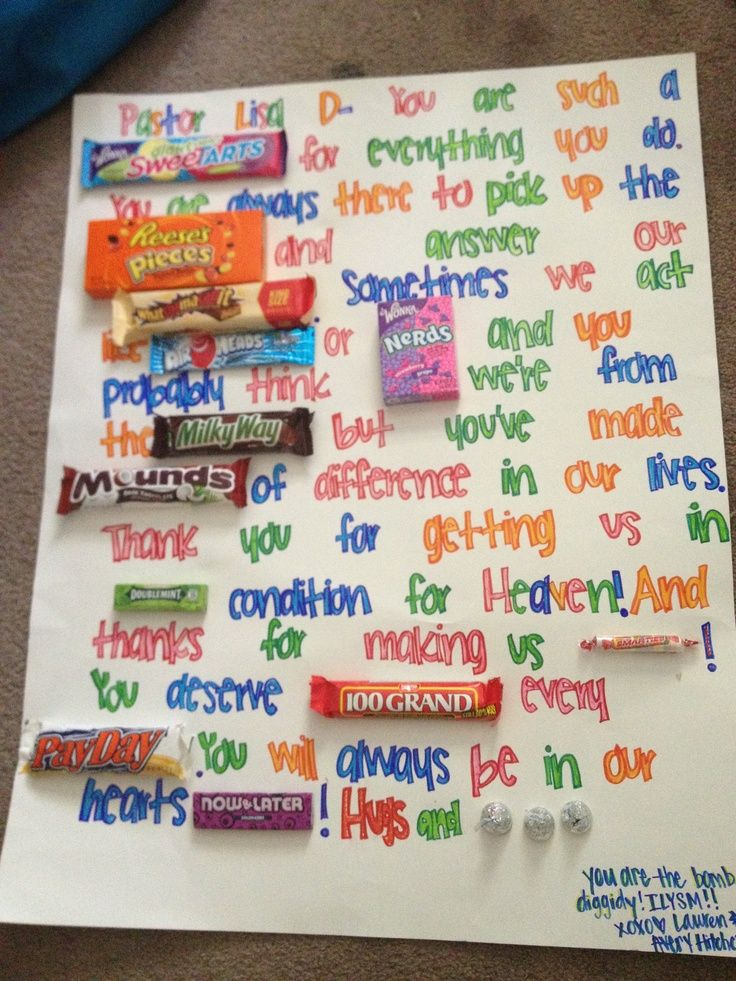 pastor appreciation ideas | Good idea for a gift to your pastor or any other person in your world ...