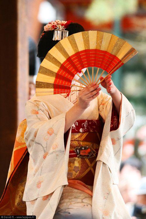 Photos du Japon .com - Maiko pendant Setsubun - apprentie Geisha de Kyoto (Temple Yasaka de Gion - Kyoto)