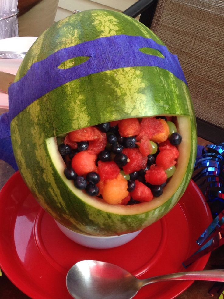 Ninja turtle watermelon