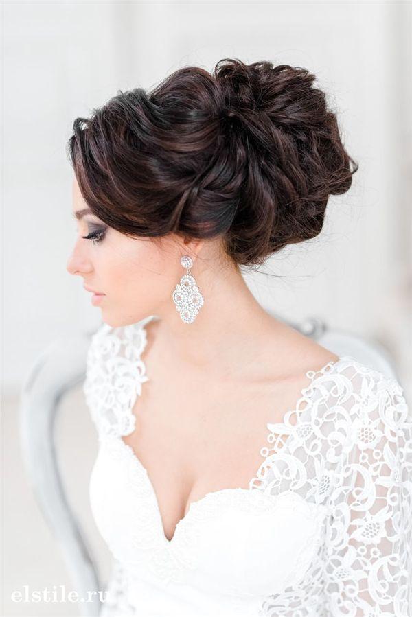 エレガント♡冬の結婚式の花嫁衣装 髪型候補♡ウェディングドレス、カラードレスにも似合うヘアスタイル参考一覧♡