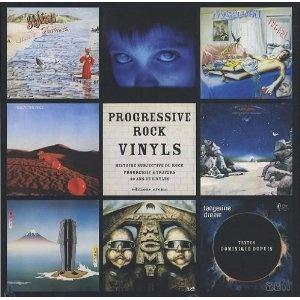 Book. Progressive rock vinyls