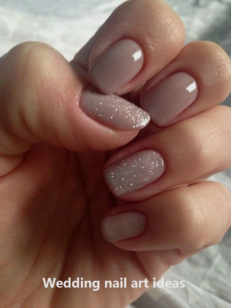35 Simple Ideas For Wedding Nails Design Nailart Weddingnails Chic Nails Gel Nail Art Designs Nails