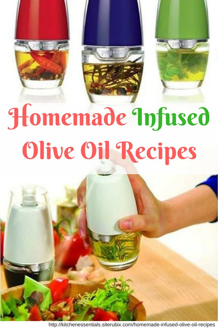 Make infused olive oil fast and easy using these recipes. Use on salads, vegetables, bread, meat, and fish.