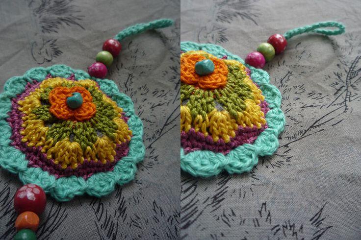 crochet ornament, in facilececile.com