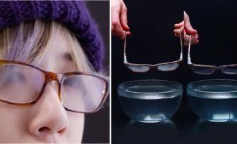 Plus jamais de buée dans vos lunettes, ça vous dirait? Essayez cette simple astuce!!