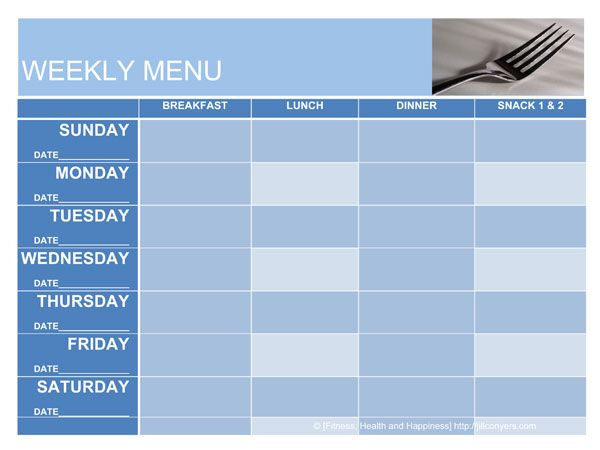 Best 25+ Menu planning templates ideas on Pinterest   Menu planner ...