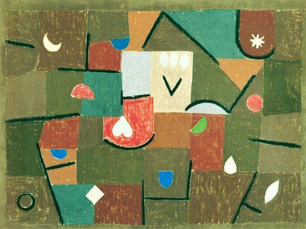 Titre de l'image : Paul Klee - Gems