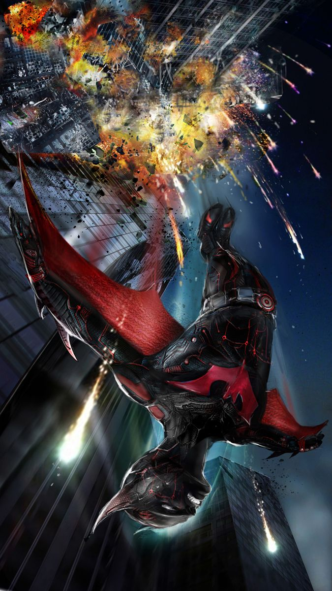 Batman Beyond Created by John Gallagher (Uncanny Knack) / Follow this artist on Website & DeviantArt / More Arts from this artist on my Tumblr HERE