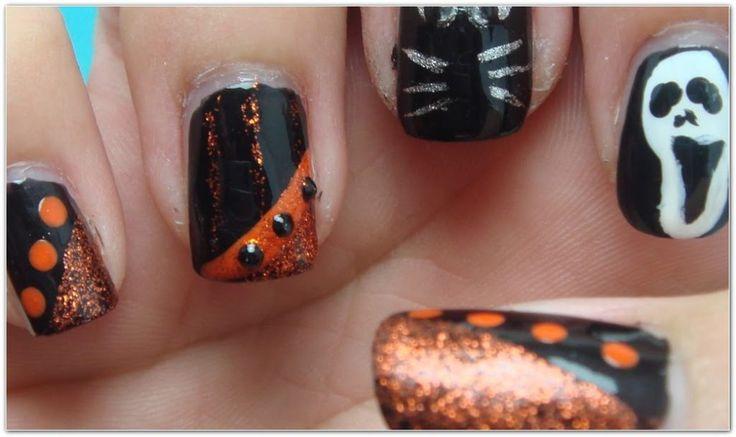 Nail Art Design Halloween 405